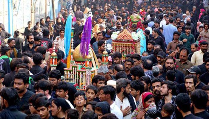 حیدرآباد، شہداء کربلا کے چہلم کے موقع پر سیکیورٹی ہائی الرٹ رکھنے کا حکم