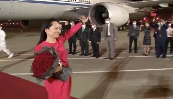 ہواوے کی ایگزیکٹو کی رہائی کے بعد چین نے بھی کینیڈین شہریوںکو رہا کردیا