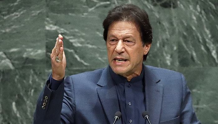 عمران خان کا خطاب، ریگن کی تقریر کا حوالہ موضوع بحث بن گیا