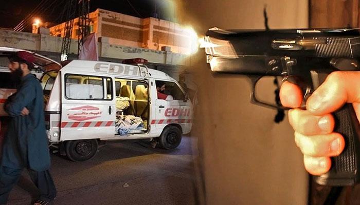 گلشن اقبال، فائرنگ سے خاتون جاں بحق