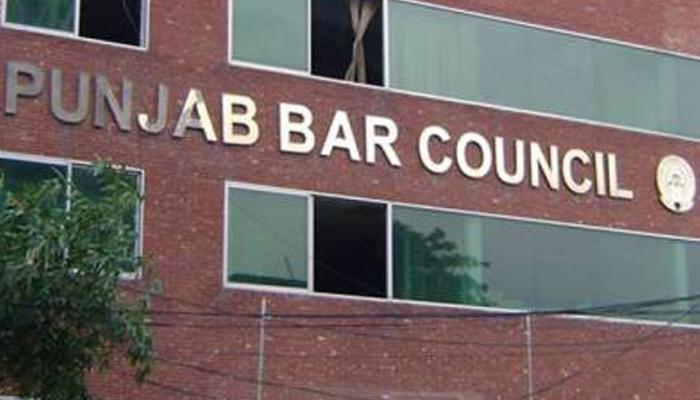 تھانہ ہربنس پورہ میں وکیل کےخلاف درج ایف آئی آر خارج کی جائے، پنجاب بارکونسل