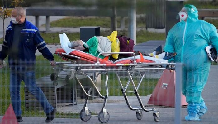 روس میں کورونا نے پھر تباہی مچادی، 24 گھنٹوں میں 984 ہلاکتیں