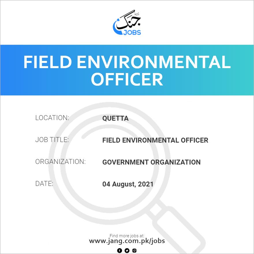 Field Environmental Officer