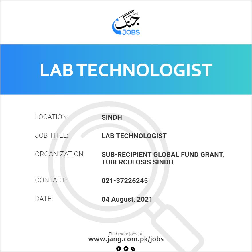 Lab Technologist