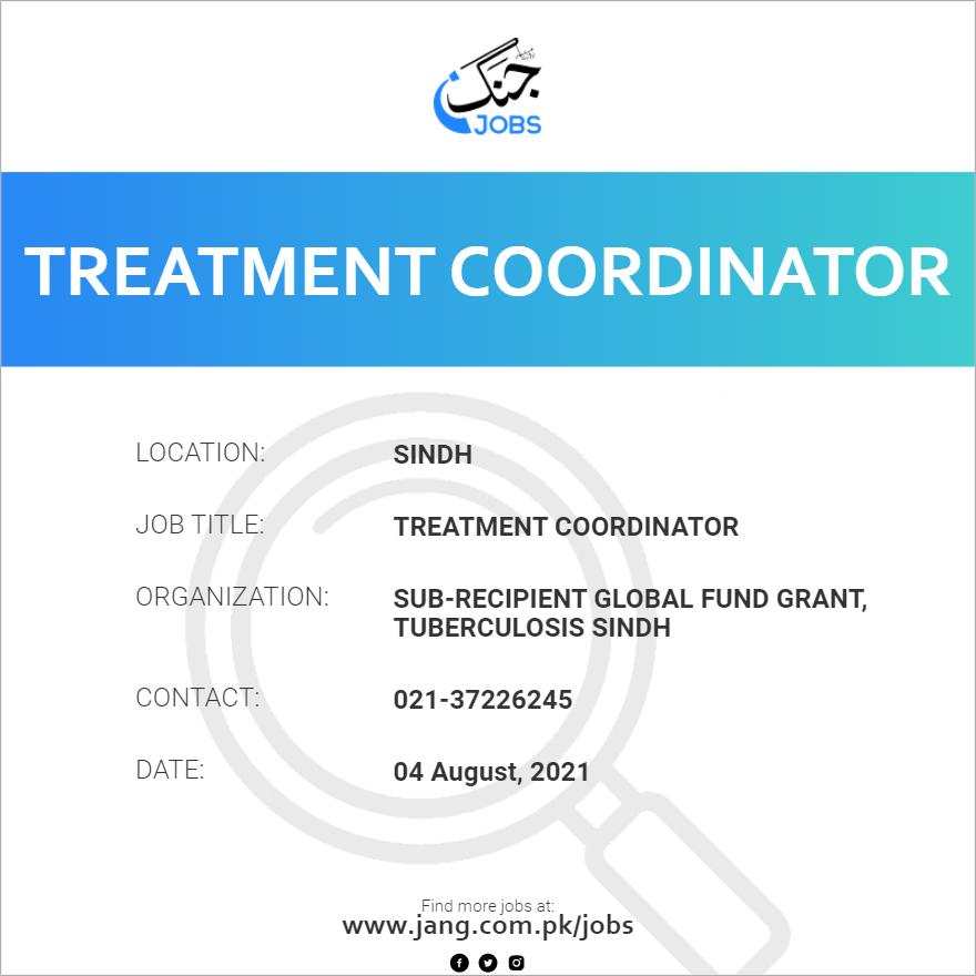 Treatment Coordinator