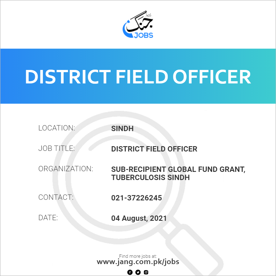 District Field Officer