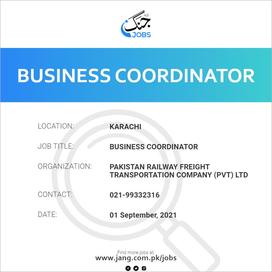 Business Coordinator