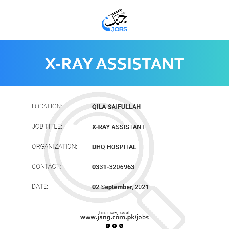 X-Ray Assistant
