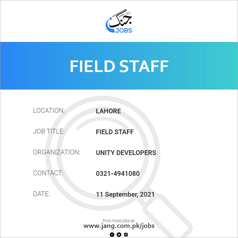 Field Staff