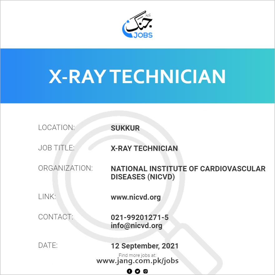 X-Ray Technician