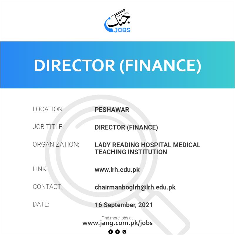 Director (Finance)