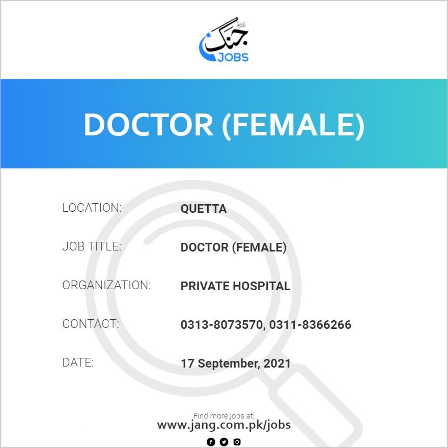 Doctor (Female)