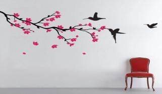 اب صرف پینٹ نہ کریں دیوار، بلکہ بنائیں حیرت انگیز نقش و نگار