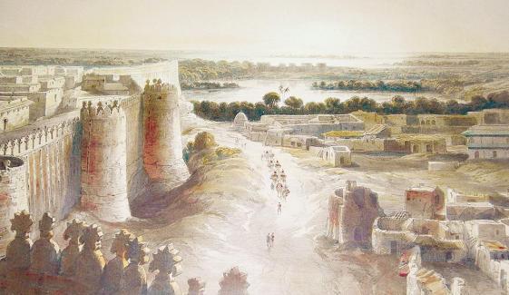 حیدرآباد کبھی نیرون کوٹ تھا