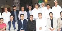 سیاسی رہنماؤں کے اعزاز میں عشائیہ و تقاریب