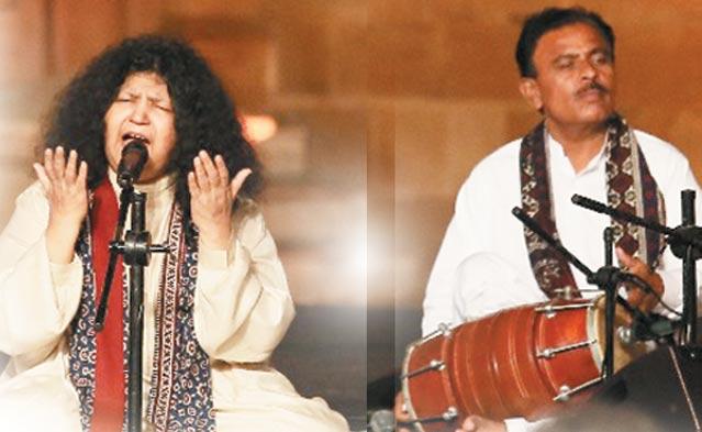 پاکستانی اور بھارتی فن کاروں کا میلہ!!