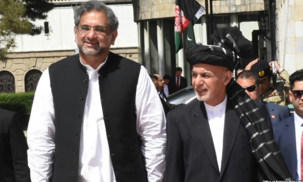 وزیراعظم پاکستان کا دورہ کابل