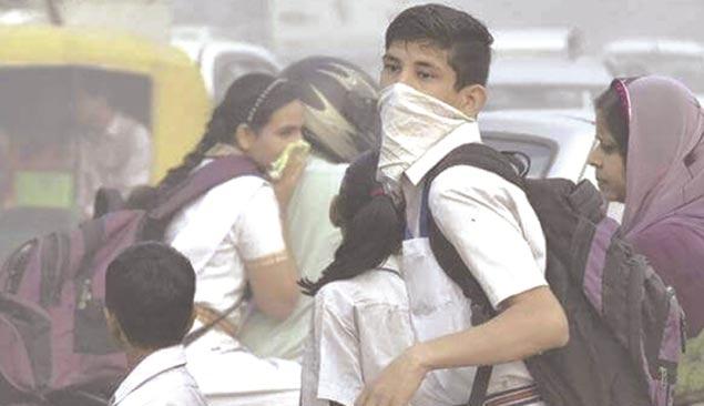 فضائی آلودگی