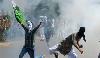 مقبوضہ کشمیر میں بھارتی مظالم کے خلاف تصویری نمائش