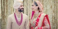 انیل کپور کی لاڈلی سونم کپور کی شادی میں شوبز ستاروں کا جشن