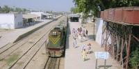شکار پور کے تاریخی ریلوے اسٹیشن