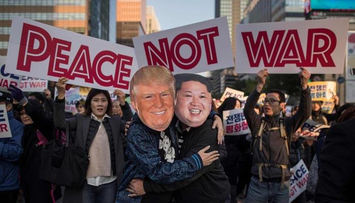 کوریا میں امن کی سمت پیش رفت