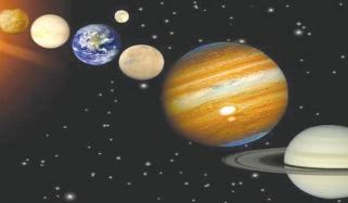 بڑے سیارچوں اور سیاروں کو بغیر دوربین کے دیکھا جا سکے گا