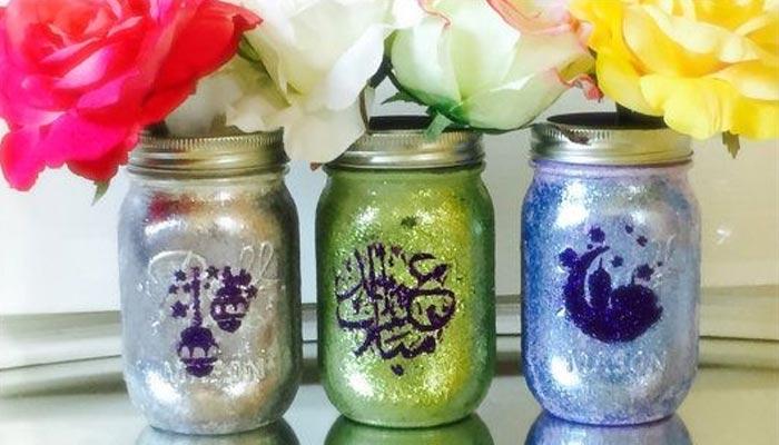 خوشنما گلاوں سے سجے گلدان بڑھائیں عید کی شان