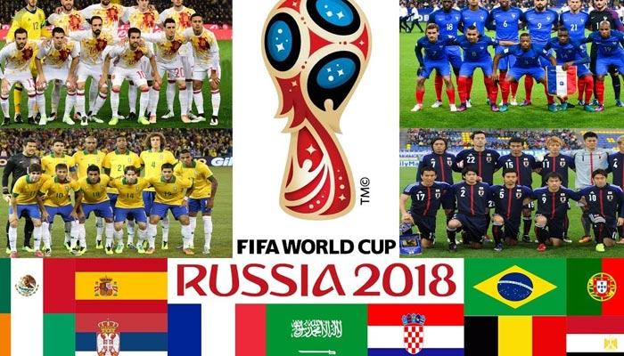 میگا فٹبال ایونٹ، ورلڈ کپ 2018 کا اسٹیج سج گیا