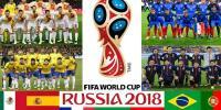 فٹبال ورلڈ کپ 2018 کا اسٹیج سج گیا