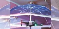 دھوپ اور بارش سے محفوظ رکھنے والی ''ڈرون چھتری''
