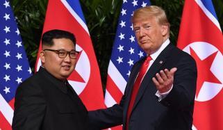 کم جونگ ان اور ڈونلڈ ٹرمپ کے کشیدہ تعلقات میں کمی
