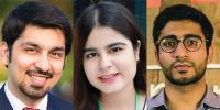 تین پاکستانی نوجوانوں کے لیے شاہی اعزاز