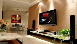 خوبصورت ٹی وی لاؤنج گھر کو دے جدید انداز