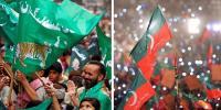 تخت لاہور کیلئے دو بڑی سیاسی پارٹیوں میں پنجہ آزمائی