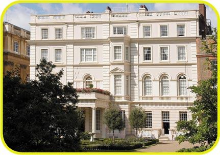 برطانیہ کے شاہی خاندان کے محلات
