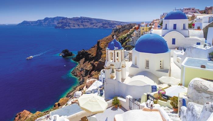 یونان کا جزیرہ سینتورینی