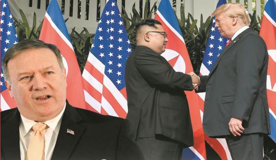 امریکی وزیر خارجہ کے شمالی کوریا پر پابندیوں میں نرمی سے انکار نے سفارتکاری میں رکاوٹ پیدا کردی