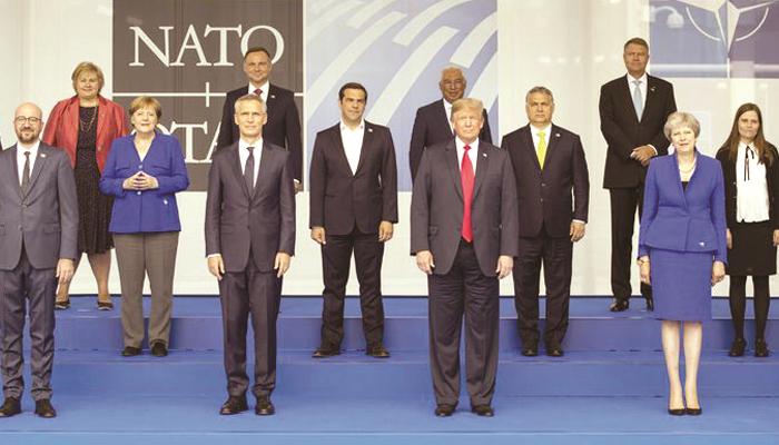 ٹرمپ کا دورہ یورپ