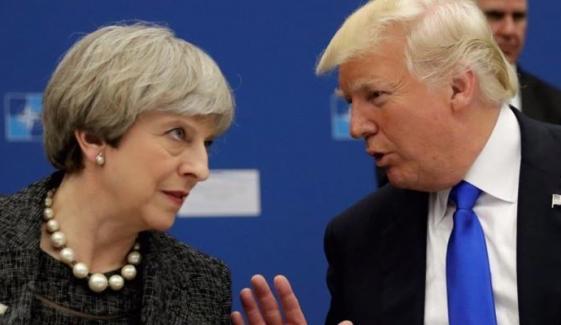 ٹرمپ نے تھریسامے کو برسلز کیساتھ مذاکرات پر ''بہیمانہ'' مشورہ دیا
