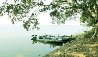 مہمان پرندوں کی منتظر ''ہالیجی جھیل''