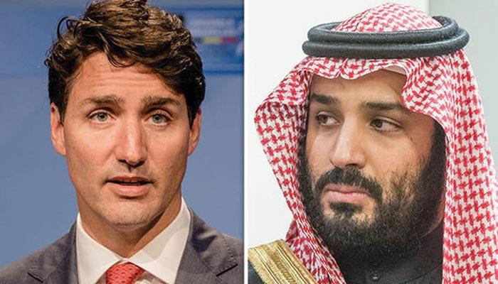 سعودی عرب اور کینیڈا کا سفارتی تنازع