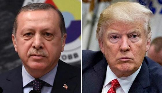 ترکی اور امریکا کے بگڑتے تعلقات