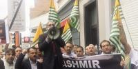 یورپی ہیڈ کوارٹر برسلز میں مظاہرہ