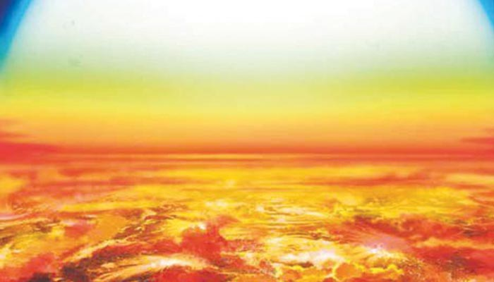گرم ترین سیارہ دریافت