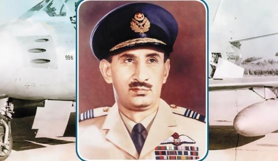 ''ایئر مارشل نور خان'' پاک فضائیہ کی عظمت کانشان