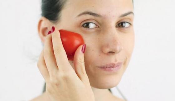 ''ٹماٹر '' حسن و صحت کو بہتر بنائے