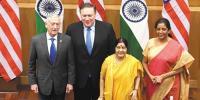امریکی وزرا کا دورہ جنوبی ایشیا: ایک تیر، کئی شکار