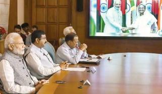 بنگلادیش میں بھارتی قدم