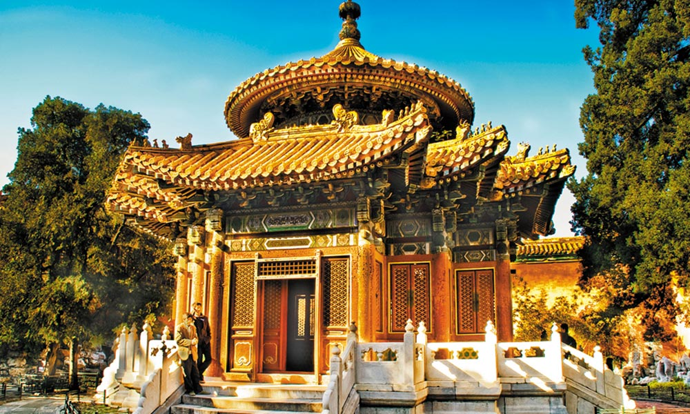 چین میں دورِ قدیم کی تعمیرات